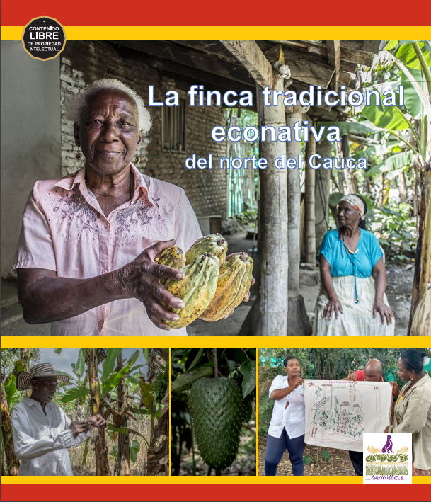 Gráfica alusiva a La finca tradicional econativa del norte del Cauca