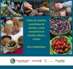 Grafica alusiva a Guía metodológica. Redes de custodios y guardianes de semillas y casas comunitarias de semillas nativas y criollas
