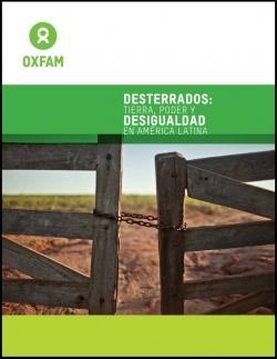 Grafica alusiva a Desterrados: Tierra, poder y desigualdad en América Latina