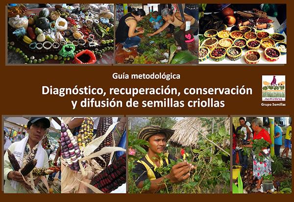 Gráfica alusiva a Guía metodológica. Diagnóstico, recuperación, conservación y difusión de semillas criollas