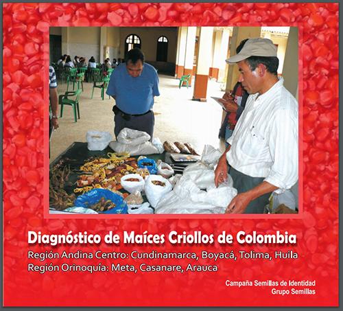 Gráfica alusiva a Diagnóstico de Maíces Criollos-Región Andina Centro y Orinoquia