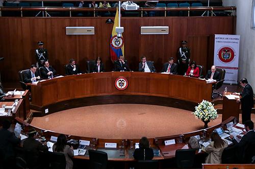 Gráfica alusiva a Comunicado Corte Constitucional Ley Zidres