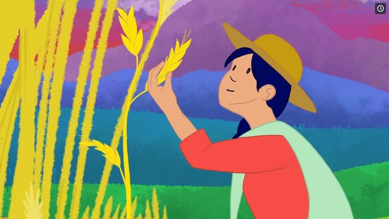 Grafica alusiva a Un viaje de 30 años acompañando la lucha por la soberanía alimentaria