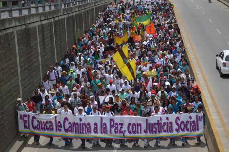 Gráfica alusiva a Carta abierta - ¡Mandatos de Caminemos la Paz!